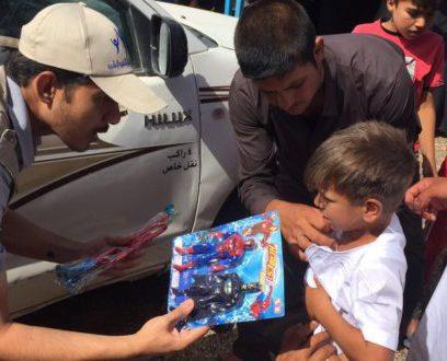 حملة ختان للاطفال النازحين