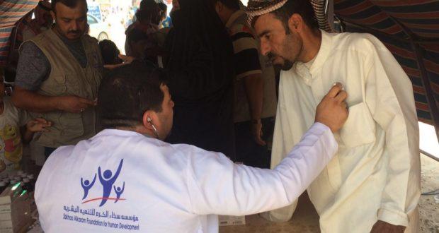 نشاط المفرزة الطبية للنازحين في محافظة صلاح الدين