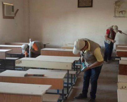 حملة تاهيل لبعض مدارس محافظة الانبار